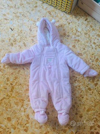 Tuta invernale neonata