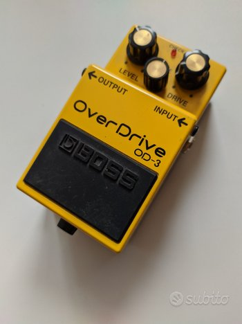Pedale Overdrive BOSS OD-3