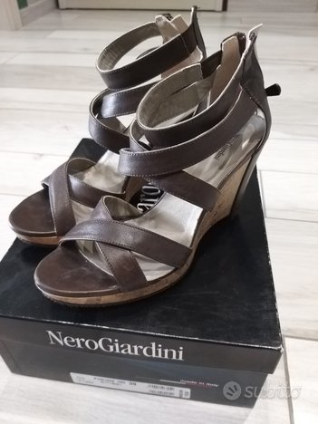 Sandali Nero Giardini mis. 39