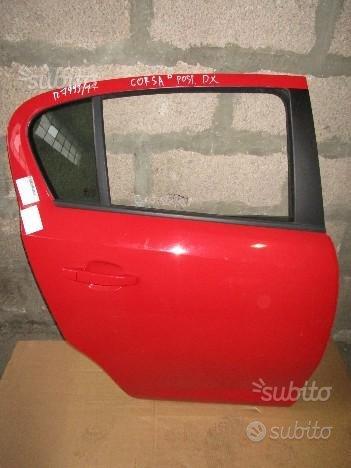 Opel Corsa D porta posteriore dx - F176