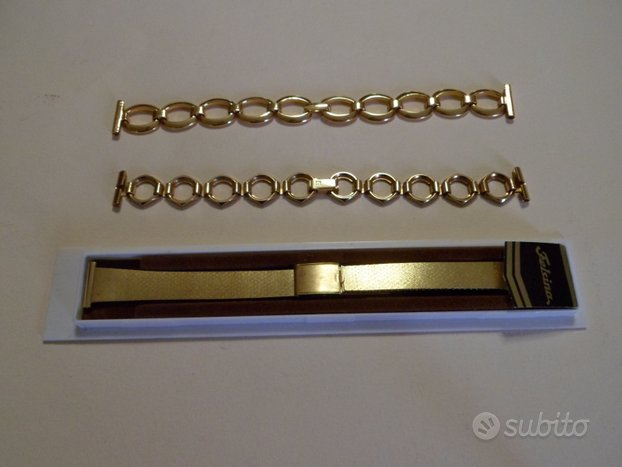 3 bracciali orologio donna vintage acciaio