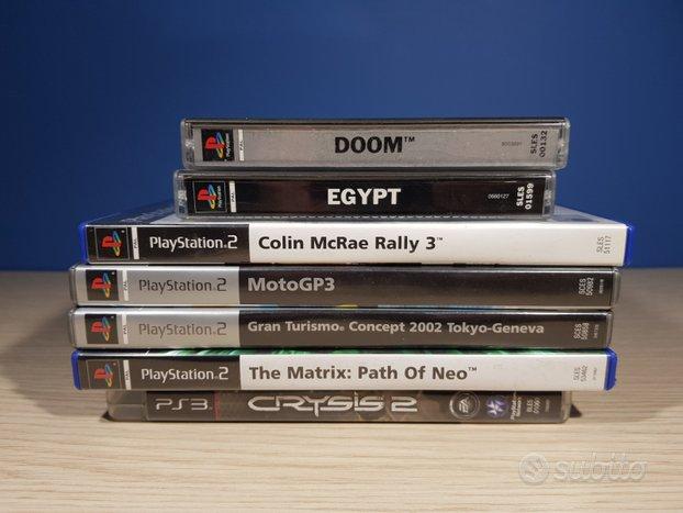 Videogiochi vari per playstation 1,2 e 3