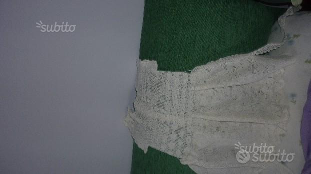 Vestitino cotone fatto all'uncinetto