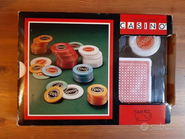 Carte da gioco con gettoni