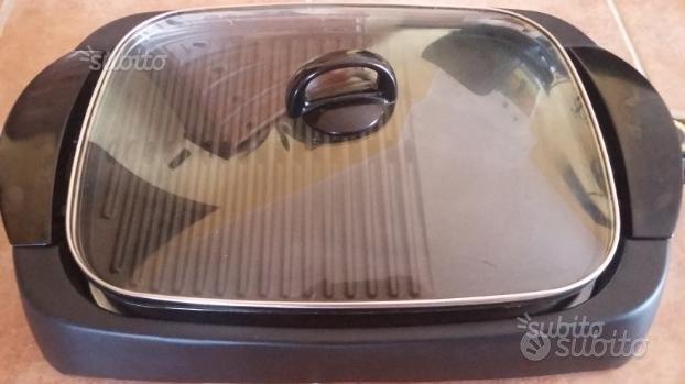 Griglia/Barbecue elettrico Ariete coperchio vetro