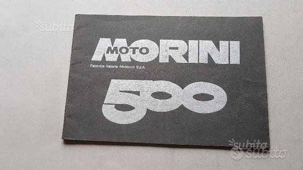 Moto Morini 500 1978 1a serie manuale uso original
