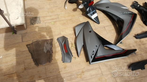 Yamaha YZF R3 R 3 ricambi e carene
