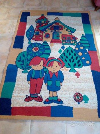 Tappeto peruviano per cameretta bambini