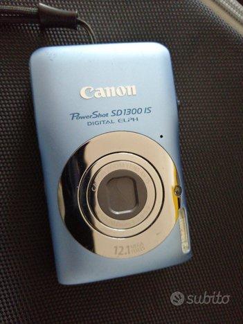 Canon powershot SD 1300 IS 12.1 Mp macchina foto