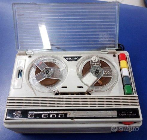 Registratore Vintage GELOSO G600 FUNZIONANTE