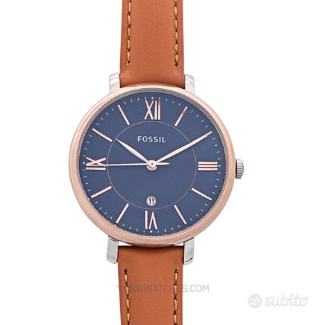 [NUOVO] Fossil ES4274 Blue Strap Leather