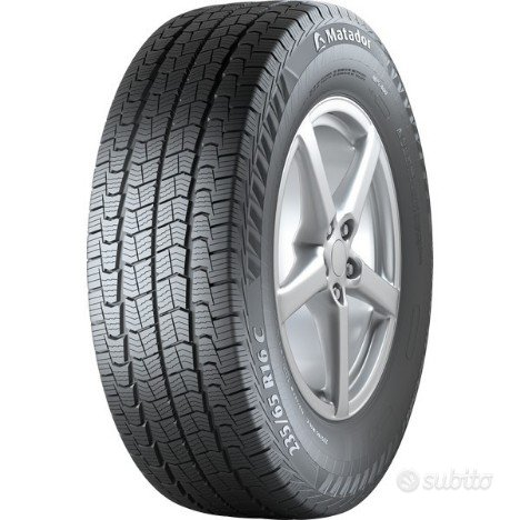 Gomme nuove 4 stagioni m+s 215 65 r15c