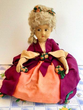 Bambola lenci antica