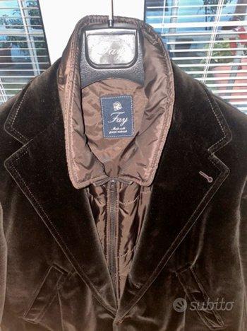 Double jacket fay velluto marrone
