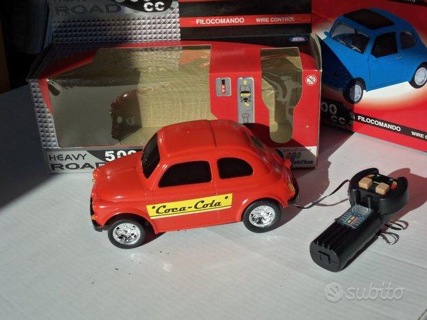 """Fiat 500-""""Coca-Cola"""" Grossa scala-con filocomando-"""