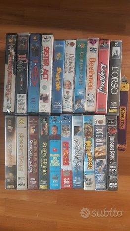 Lotto VHS film cartoni animati