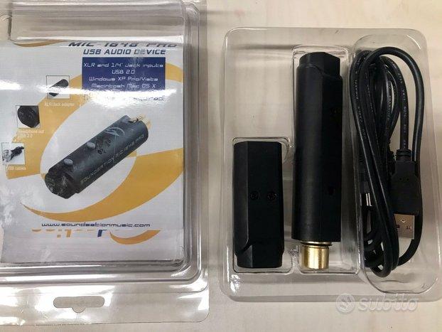 Interfaccia soundsation usb per microfono
