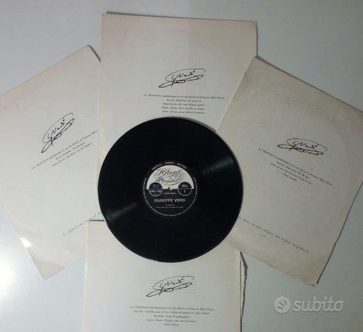 G. Verdi. La Traviata in 4 LP. Fabbri Editori