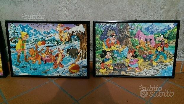 Quadri Puzzle Cartoni Disney