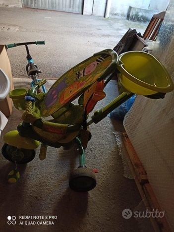 Triciclo passeggino Fisher price