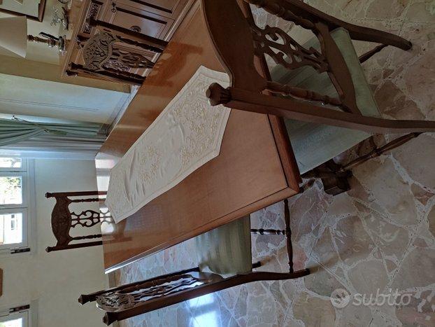 Tavolo e 6 sedie - Elettrodomestici In vendita a Palermo