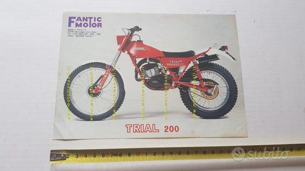 Fantic Motor Trial 200 1982 depliant originale