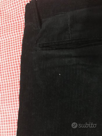 Pantalone velluto