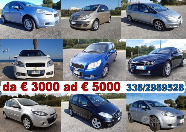 FIAT Grande Punto - 2010- AUTO DA 3000 a 5000
