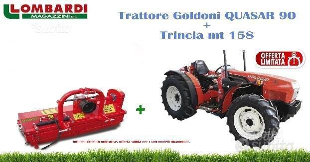 Trattore Goldoni Quasar 90 con trincia,90 cavalli