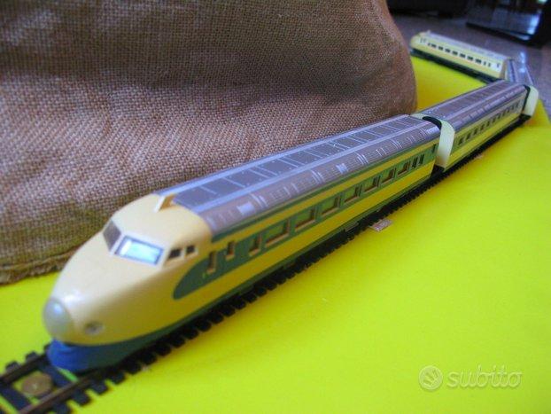 Trenino Tokaido treno HO Lima locomotrice vintage