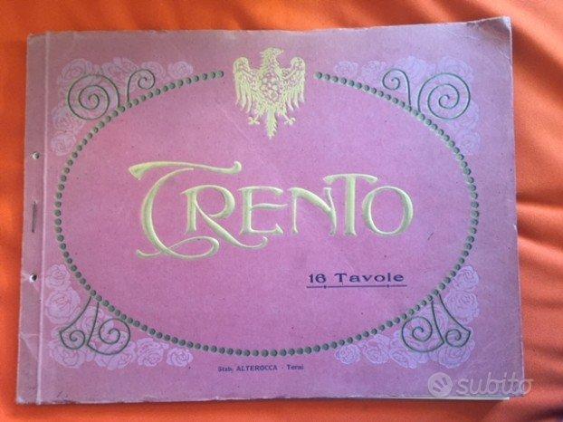 Trento, 16 tavole - 1920?