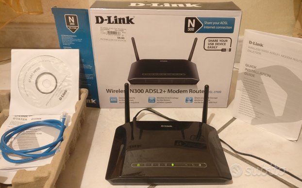 Router D-Link 2750B wireless