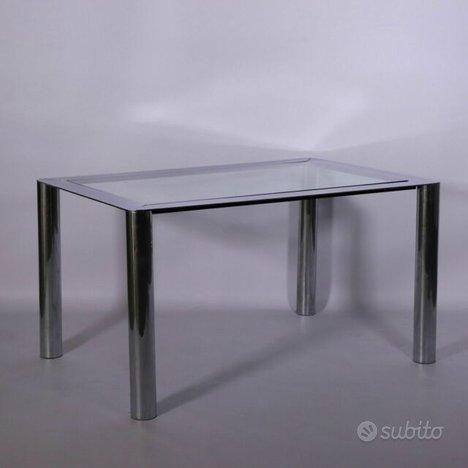 Tavolo Cinova mod. 912 Design anni 70,Sergio MAZZA