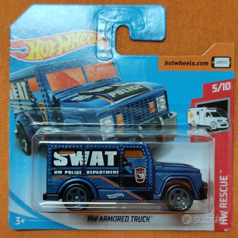 Hot Wheels 1/64 - HW Armored Truck