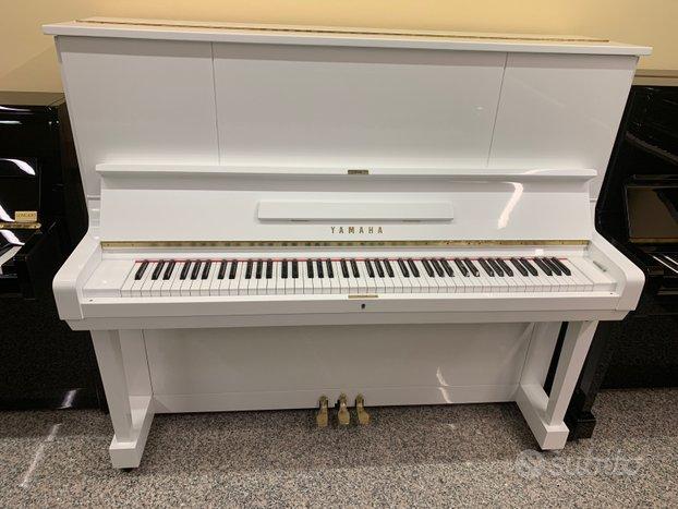 Yamaha U3 Silent Bianco - Pianoforti Silent