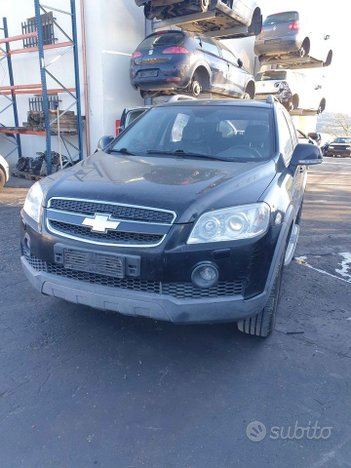 Chevrolet captiva ricambi usati vettura rottamata