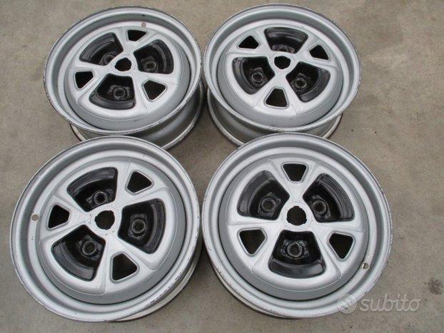 4 cerchi in ferro Renault 4TL/5TL/R12