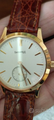 Orologio in oro 18k Eberhard carica manuale