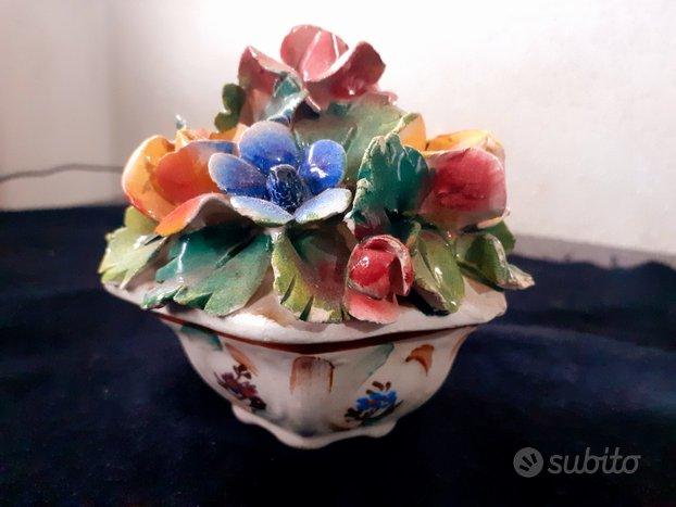 Portaoggetti portagioie ceramica italiana anni 60