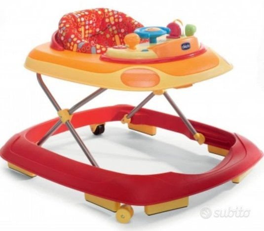 Chicco Band Baby Walker Rosso