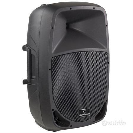 Cassa amplificata go-sound 8a 320w
