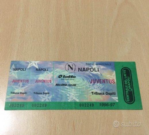 Biglietto Napoli - Juventus 1996/97