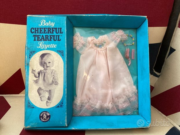 Mattel Vintage abitino bambola NRFB del 1966