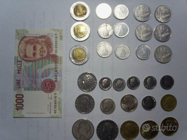 Monete e banconote LIRE