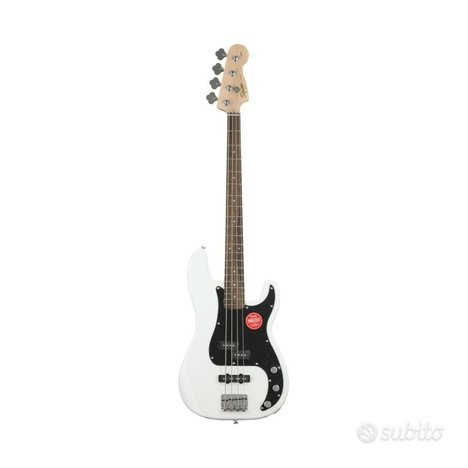 Basso squier affinity white nuovo