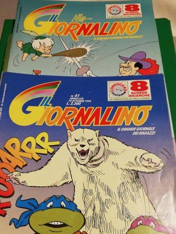 """""""IL GIORNALINO"""" 9 Fascicoli del 1994/95 + 2 Racc"""
