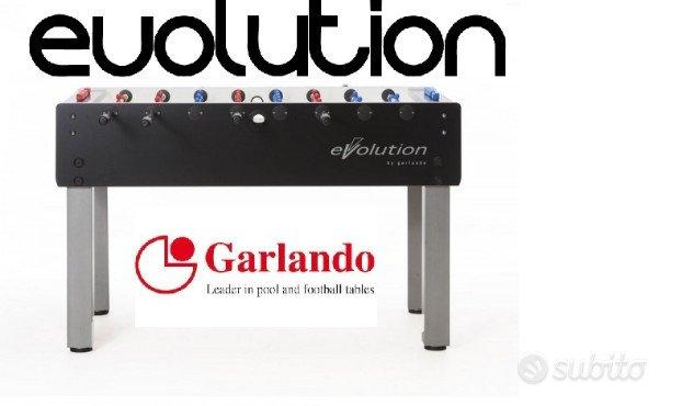 Garlando G500 Evolution nuovo calcio balilla