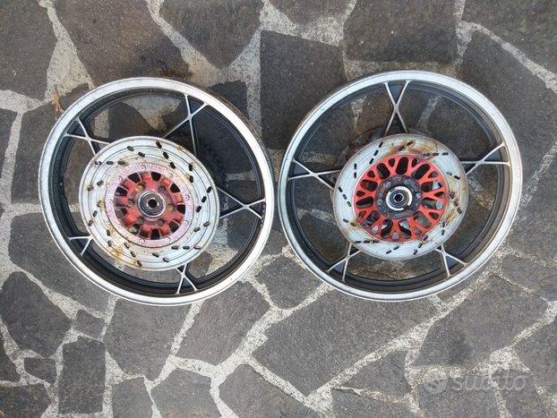 Cerchi moto suzuki anni 80 (katana 550)