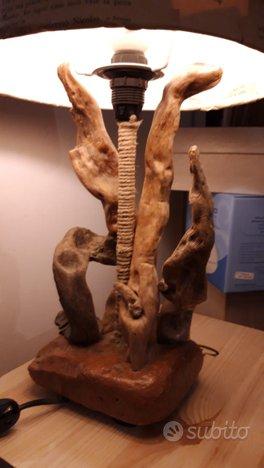 Lampada fatta a mano