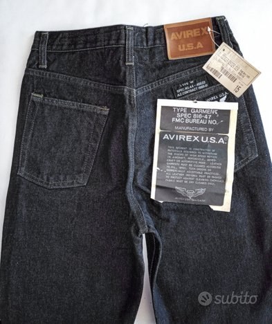 Jeans Avirex USA paninari nuovi